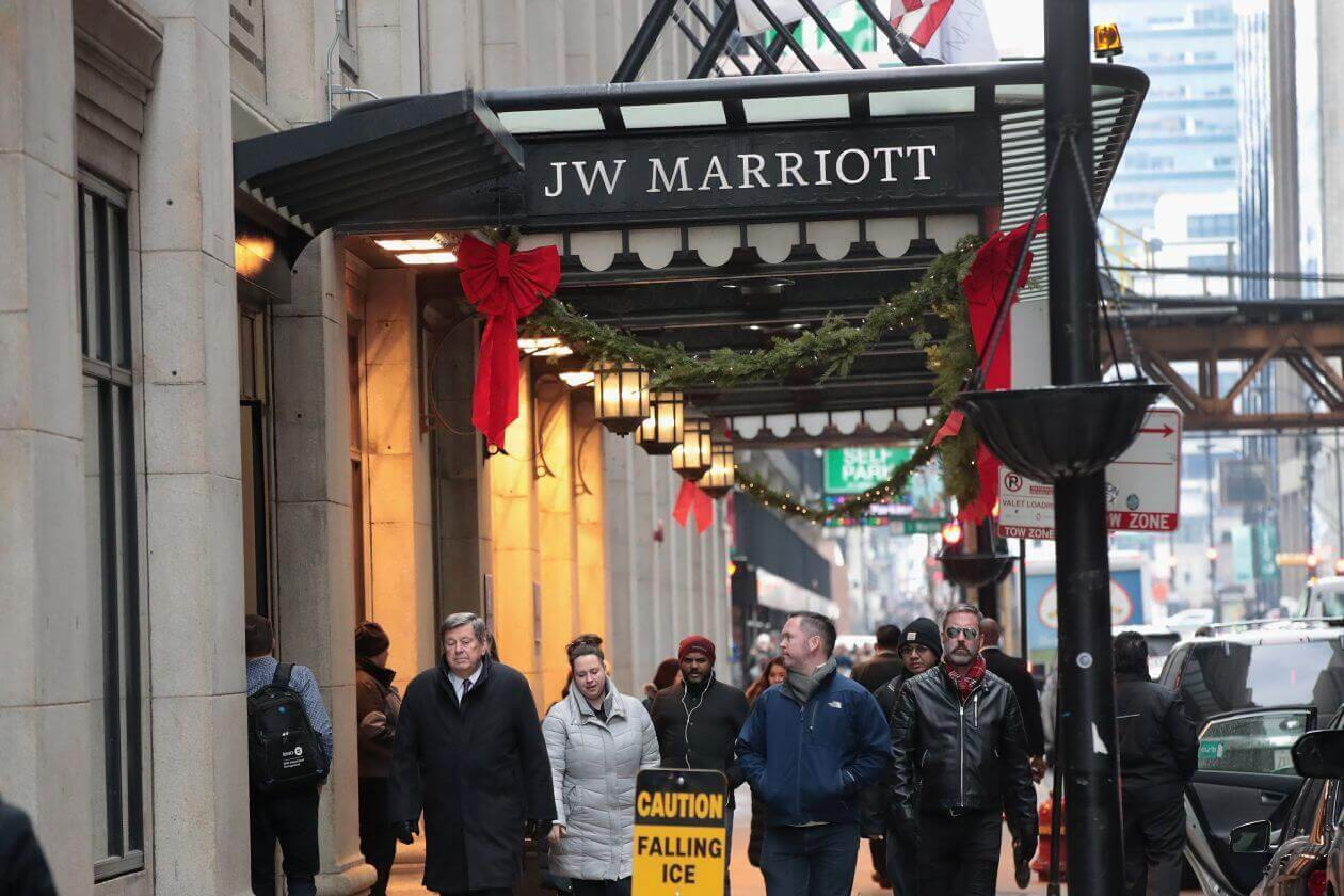 After the hack of Marriott's Starwood reservation system and similar large-scale intrusions, data thieves are getting more intrusive, in some cases using a single account record to break into many databases. Photo: Scott Olson/Getty Images